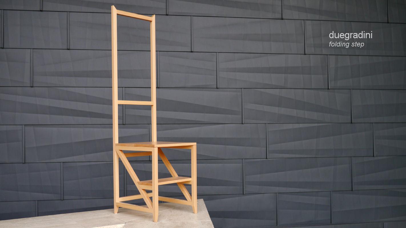 Scale interne design scaletta legno sgabelli arredo e design